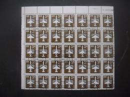 ALLEMAGNE DDR Poste Aérienne N°13 En Bloc De 35 Oblitéré Cote 63€ - Collections (sans Albums)