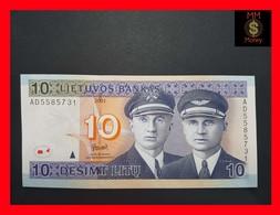 Lithuania  10 Litu 2001 P. 65 UNC - Lithuania