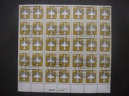 ALLEMAGNE DDR Poste Aérienne N°16 En Bloc De 35 Oblitéré - Collections (sans Albums)