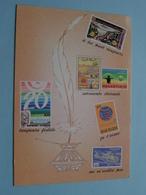 """EXPHISALM 79 Concours National """" Roi Casqué 1919-1979 ( FDC 7-7-1979 VIELSALM Stamp / Zie Foto's ) ! - Timbres (représentations)"""