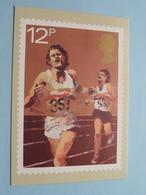 SPORT ( Athletics ) National Postal Museum 1980 ( 28 Nov 1980 London Stamp / Zie Foto's ) ! - Timbres (représentations)