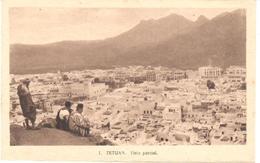 POSTAL    TETUAN - MARRUECOS  - VISTA PARCIAL  ( VUE PARTIELLE) - Marruecos