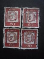 ALLEMAGNE N°225 X 4 Oblitéré - Timbres