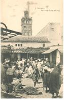 POSTAL    TETUAN - MARRUECOS  - ZOCO DEL PAN  (ZOCO DU PAIN) - Marruecos