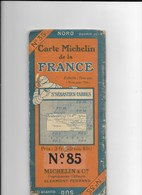 Carte Michelin N°85 St Ebastien Tarbes 1/200000 - Geographical Maps