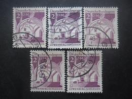 ALLEMAGNE N°362 X 5 Oblitéré - Briefmarken