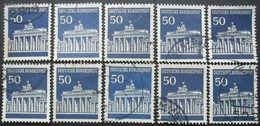 ALLEMAGNE N°371 X 11 Oblitéré - Timbres