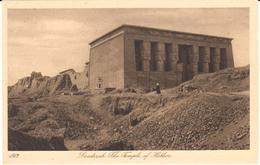 POSTAL     DENDERAH  -EGIPTO  - THE TEMPLE OF HATHOR - Otros