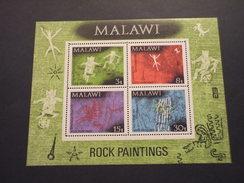 MALAWI - BF 1972 PITTURE RUPESTI - NUOVI(++) - Malawi (1964-...)