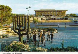 1 AK Israel * Jerusalem - Das Gebäude Der Knesset - Israels Parlamentsgebäude Und Davor Die Menora * - Palestine