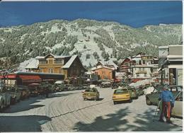 Villars En Hiver Im Winter, Oldtimer, Animee - Photo: A. Deriaz - VD Vaud