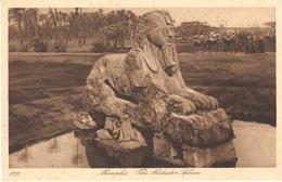 POSTAL    MEMPHIS  -EGIPTO  - THE ALABASTER SPHINX - Egipto