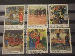 COOK - 1967 PITTURE GAUGUIN 6 VALORI - NUOVO(++) - Cook