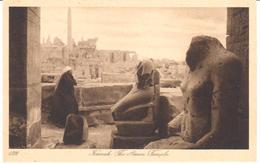 POSTAL   KARMAK  -EGIPTO   -THE AMON TEMPLE - Egipto