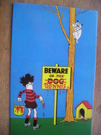 CPM  The Beano Comic   Dennis The Menace 1956 Back Cover Art D Law - Comics