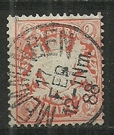Bayern,  Nr. 44a, Gestempelt - Bavière