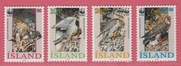1992 ** Islande  (sans Charn., MNH, Postfrish)  Yv  729/32Mi  776/9FA  811/4 - 1944-... Republik