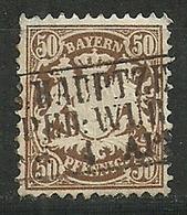 Bayern,  Nr. 46, Gestempelt - Bavière
