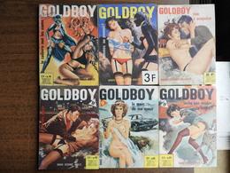 Goldboy. Lot De 19 BD Adultes - Bücher, Zeitschriften, Comics