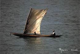Afrique-CÔTE D'IVOIRE GRAND BEREBY Retour De La Pêche  (pirogue)(-MAURICE ASCANI 6) *PRIX FIXE - Côte-d'Ivoire