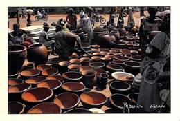 Afrique-CÔTE D'IVOIRE Marché De KORHOGO Poteries De Village De LINDIO (-MAURICE ASCANI 56) *PRIX FIXE - Ivory Coast