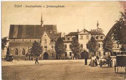 AK Erfurt, Ursulinenkloster Und Divisionsgebäude 1911 - Erfurt