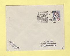 Daguin - L'Epine Sa Basilique Son Pelerinage - 1961 - Marcofilia (sobres)