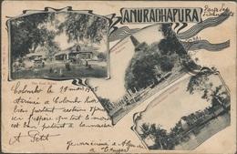 ANURADHAPURA, SRI LANKA, PC, Circulated 1905 - Sri Lanka (Ceylon)