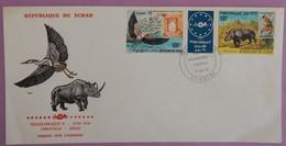 TCHAD ENVELOPPE 1ER JOUR 01/11/1978 PA PHILEXAFRIQUE II RARE - Tschad (1960-...)