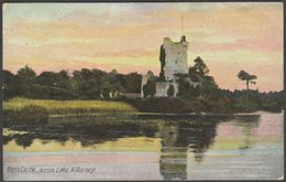 Ross Castle, Across Lake, Killarney, Kerry, 1910 - J W Bland Postcard - Kerry