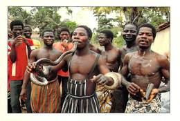 Afrique-CÔTE D'IVOIRE Charmeur De Serpents Village De BANHILEU  (-MAURICE ASCANI 65) *PRIX FIXE - Côte-d'Ivoire