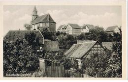 AK Birkenfelde/Eichsfeld, Ansicht Mit Kirche 1955 - Germany