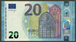 Portugal - 20 Euro - M004 B1 - Draghi - UNC - EURO