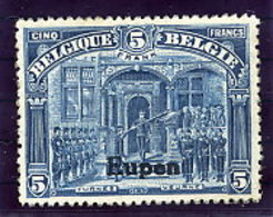 EUPEN  1920 5 Fr.  LHM / *.  Michel 13 - Occupation 1914-18