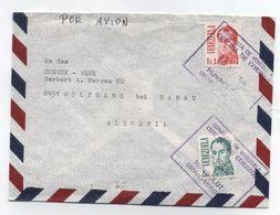Venezuela/Germany AIRMAIL COVER 1978 - Venezuela