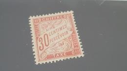 LOT 410368 TIMBRE DE FRANCE NEUF* N°34 VALEUR 950 EUROS - Segnatasse
