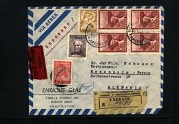 Argentina Interesting Airmail Letter - Argentinien