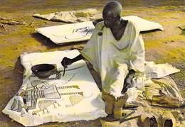 Afrique-CÔTE D'IVOIRE Artiste Peintre à KORHOGO  (photo J-C NOURAULT 84598) *PRIX FIXE - Ivory Coast