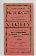 VICHY - Guide Indicateur Avec Plan Exact - 4 Eme Edition - Maps
