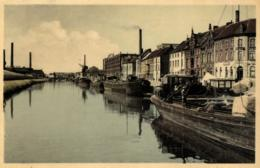BELGIQUE - FLANDRE ORIENTALE - AALST - ALOST - De Dender - La Dendre. (péniches). - Aalst
