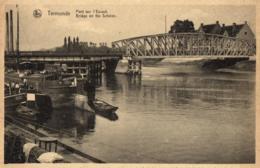 BELGIQUE - FLANDRE ORIENTALE - TERMONDE - DENDERMONDE - Pont Sur L'Escaut - Bridge On The Schelde. - Dendermonde