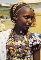 Afrique-CÔTE D'IVOIRE Jeune Fille PEUL (Ethnie Vgroupe Ethnique Sourire Africain)  (photo J-C NOURAULT 84601) *PRIX FIXE - Ivory Coast