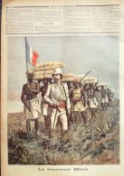LE PETIT JOURNAL-1892- 85-AFRIQUE CENTRALE/MIZON-Gal MELLINET - Newspapers