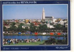 REYKJAVIK ICELAND ISLAND PANORAMA NICE STAMP EUROPA CEPT - Islande