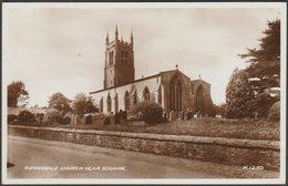 Rippingale Church, Near Bourne, Lincolnshire, 1939 - Valentine's RP Postcard - England