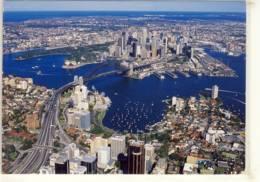 SYDNEY AUSTRALIA AIR VIEW OF HARBOUR CITY   NICE STAMP CHRISTMAS ISLAND - Sydney