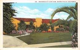 BEVERLY HILLS CALIFORNIA~CLARA BOW RESIDENCE-AMERICAN MOVIE ACTRESS POSTCARD 1920s 42671 - Vereinigte Staaten