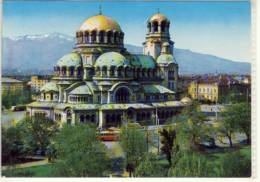 SOFIA ALEXANDER NEVSKI KIRCHE DOME MONUMENT - Bulgaria