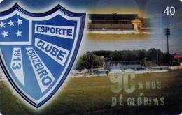 TARJETA TELEFONICA DE BRASIL (FUTBOL, ESPORTE CLUBE CRUZEIRO, N18*, 04/2003). (500) - Brasil