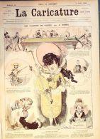 LA CARICATURE-1880-14-VACANCES De PAQUES-ILLUSTRE : ROBIBA,DRANER - Books, Magazines, Comics